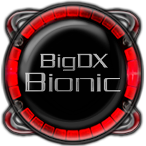 Bionic Launcher Theme Red