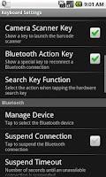 Screenshot of BluePiano Bluetooth Wedge Demo