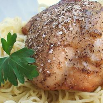 Cardamom Chicken with Salt and Pepper Crust