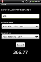 Screenshot of xcRate - Exchange Rate convert