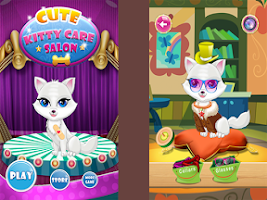 Screenshot of Kitty Cat Pet Doctor Dress Up