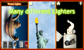 Screenshot of Virtual Lighter