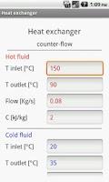 Screenshot of Heat Exchanger