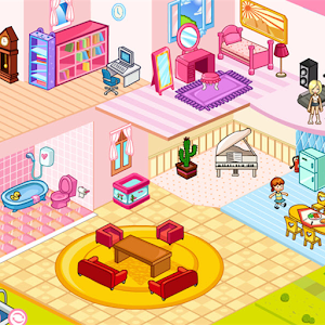 Doll house decoration android apps on google play for Room design game app