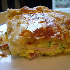 Famous New Zealand Bacon & Egg Pie