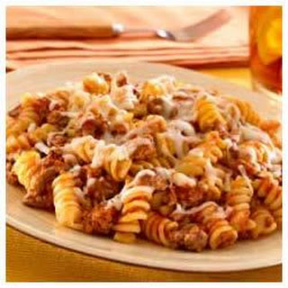 Skillet Pasta and Beef Dinner
