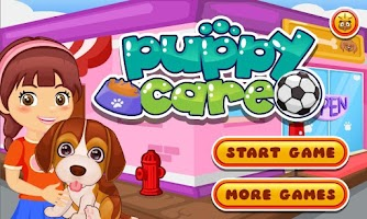 Screenshot of Cute Puppy Pet Care