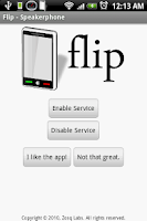 Screenshot of Flip - Speakerphone