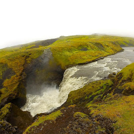 Waterfall in Iceland by Tyrell Heaton - Instagram & Mobile Other ( iceland, gopro, waterfall )