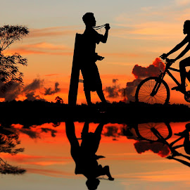 Memotret by Ismanto Lungsi - People Street & Candids