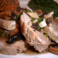 Pork Tenderloin With Sherry-Mushroom Sauce