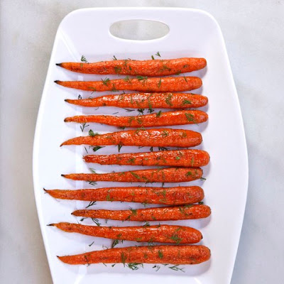 Roasted Carrots with Dill