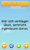 Screenshot of LIEBE Sprüche + Zitate