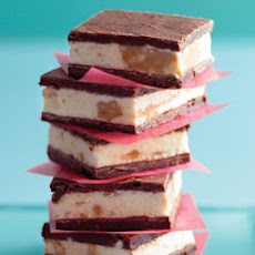 Brownie-and-Peanut-Butter Ice Cream Sandwiches