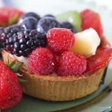 Fruit Tart with Honeyed Yogurt