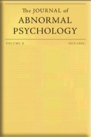 Journal of Abnormal Psychology