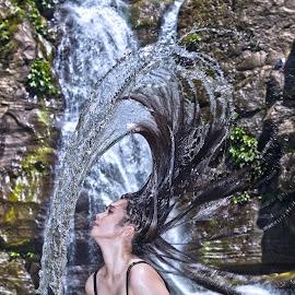 Lady Splash by Paul Serrano - People Portraits of Women