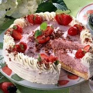 Frozen Grand Marnier Torte With Dark Chocolate Crust And Spiced ...