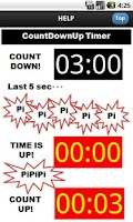 Screenshot of Countdown Countup Timer