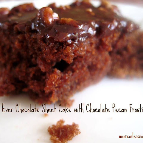 The Best Chocolate Sheet Cake. Ever. Recipe | Yummly