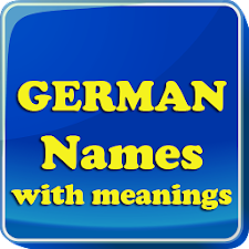 German Baby Names & Meaning