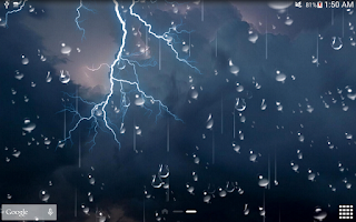 Screenshot of Thunder Storm Live Wallpaper