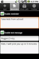 Screenshot of Spoty Location Reminder