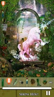 Screenshot of Hidden Object - Unicorns