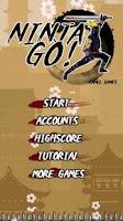Screenshot of Ninja Go! (Free)