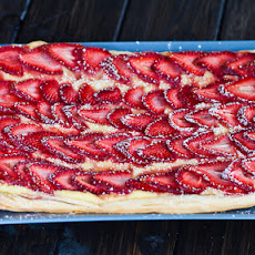 Strawberry and Custard Tart
