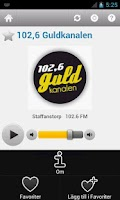 Screenshot of Svensk Radio (Sweden)
