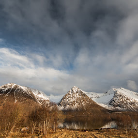Clouds and hills by Benny Høynes - Landscapes Cloud Formations