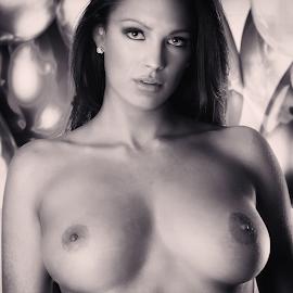 Balloons by Michael Karakinos - Nudes & Boudoir Artistic Nude