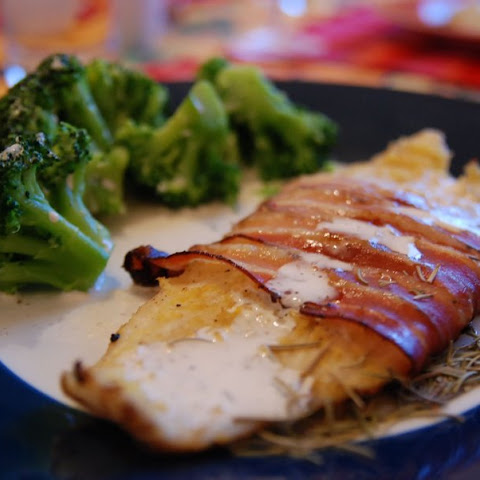 The 10 best bacon wrapped fish recipes yummly for Bacon wrapped fish