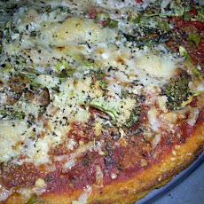 Chef Joey's Polenta Crust Pizza