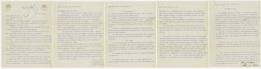 Allom's lengthy letter to Frick in March 1913 discusses how the house's interior might complement Frick's collection.  Already, his two Veronese paintings were designated for the walls at the west end of the gallery.