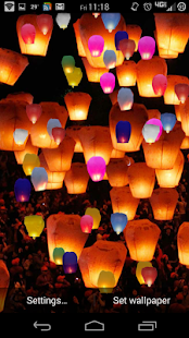 Paper Lanterns Lite - screenshot