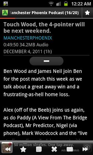 Manchester Phoenix Podcast App