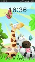 Screenshot of GO Locker Theme animals
