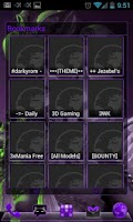 Screenshot of APW Theme DeepPurple - Free