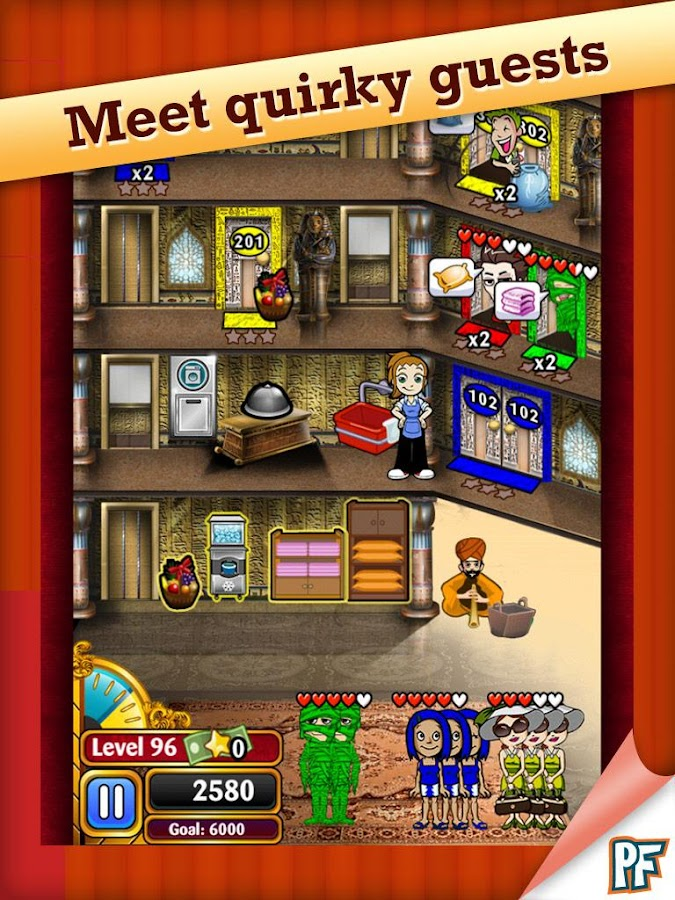 Hotel Dash Deluxe Screenshot 1