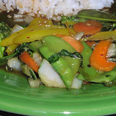 Asian-Style Honey Vegetable Stir Fry