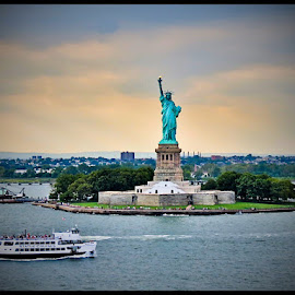 Give me your tired and your poor ....Miss Liberty by Patrick Graziose - Travel Locations Landmarks