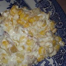 Cream Cheese Corn Bake