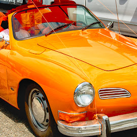 Golden with a Ghia by Fred Walker - Transportation Automobiles ( cars, woodward ave, car show, detroit, dream cruise )