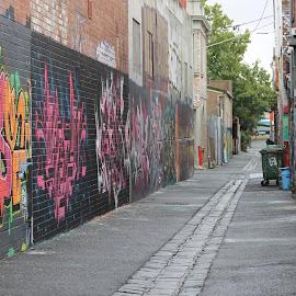 by Isa Graham - City,  Street & Park  Neighborhoods