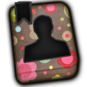 GO CONTACTS-PinkFlowerContacts icon