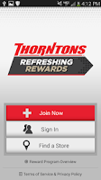 Screenshot of Thorntons Refreshing Rewards