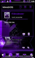 Screenshot of GOWidget Theme DeepPurple-Free
