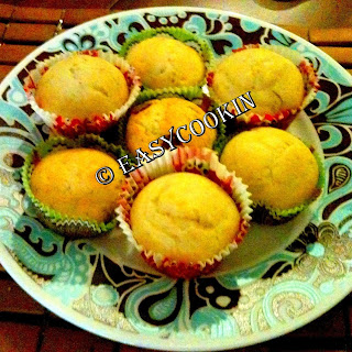Lemon Surprise Muffins